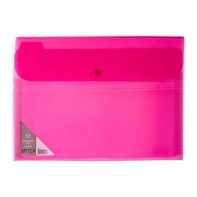 Meeco 6 Division Economy Expanding File - Pink