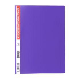 Meeco A4 Executive Quotation Folder - Violet