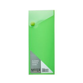 Meeco Sliding Pencil Case - Green