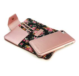 Tuff-Luv Alston Craig Ladies Magnetic Case for the Apple iPhone 7 -Black Secret Garden