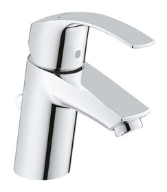 Grohe - EuroSmart Basin Tap With Pop-Up Waste - Regular Spout