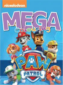 Paw Patrol 120 Page Mega Colour & Activity Book