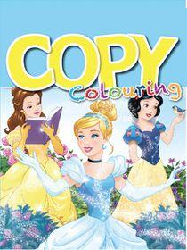 Disney Princess 24 Page Copy Colour Book