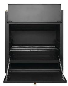 Megamaster - 750 Standard Built in Braai - Black