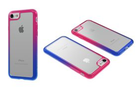 Body Glove Ghost Fusion Case for iPhone 7 - Blue/Pink
