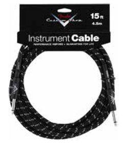 Fender Custom Shop Cable Black Tweed 15'