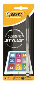 BIC Cristal Stylus Ballpoint Pen - Black Ink