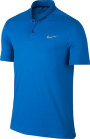 Mens Nike Transition Heather Polo - Blue