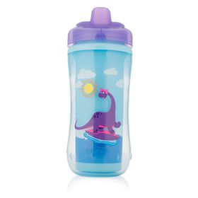 Dr Brown's - Hard Spout Insulated Cup - Purple