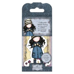 Docrafts Gorjuss Rubber Stamp - No.28 Toadstool