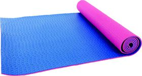 Medalist Deluxe Textured Yoga Mat - Blue/Pink
