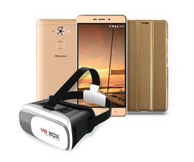 Hisense E76 DualSim 32GB LTE - Gold Bundle