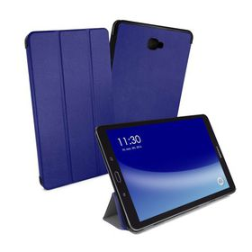 "Tuff-Luv Smart Cover and Stand for Samsung Galaxy Tab A 10.1"" - Dark Blue"