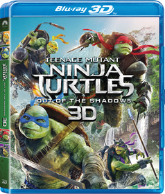 Teenage Mutant Ninja Turtles 2: Out of the Shadows (3D Blu-ray)