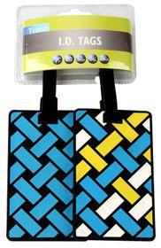 Motoquip Luggage Tag Kit Jetsetter - 2 Piece