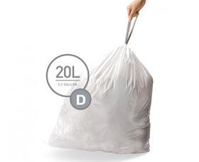 SimpleHuman - Liner Code D - 20 Litre