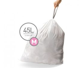SimpleHuman - Liner Code M - 45 Litre