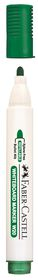 Faber-Castell Whiteboard Bullet Point Markers - Green (Box of 12)