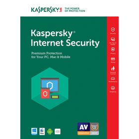 Kaspersky Internet Security 2017 DVD - 4 User