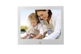 "Fotomate 10"" Digital Photo Frame - Silver Metallic"