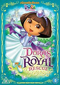Dora The Explorer Dora's Royal Rescue (DVD)