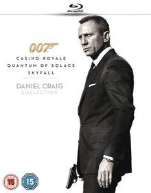 Daniel Craig Triple Boxset (Blu-ray)