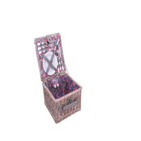 Avanti - 2 Person Half Willow Basket - Flamingo