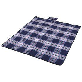 Avanti - Picnic Blanket - Navy Check