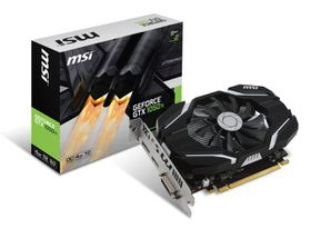 MSI GeForce GTX 1050 OC Gaming Graphics Card - 4GB