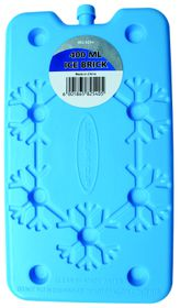 Leisure-quip - Non Toxic Flat Easy Pack Ice Brick -  Blue - 400ml
