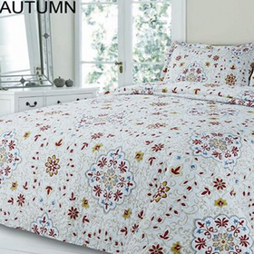 Simon Baker - Autumn Quilted & Printed Comforter Set