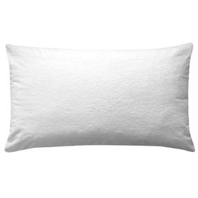 Simon Baker - Terry Towelling Waterproof Pillow Protector 2 Piece Set - Standard