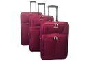 Voss 3 Piece Luggage Set - Maroon