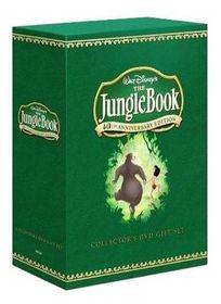 Jungle Book : 40th Anniversary Edition - Limited Edition 2 Disc Collector's Gift Set (DVD) With Book