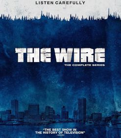 The Wire: Complete HBO Season 1-5 (DVD)