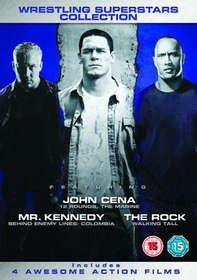 WWE Boxset (12 Rounds, Marine, Bel3,Walking Tall) (DVD)