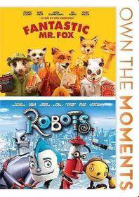 Fantastic Mr. Fox/Robots - (Region 1 Import DVD)