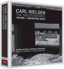 Nielsen / Danish National Sym Orch / Dausgaard - Masterworks: Orchestral Music 1 (CD + DVD)