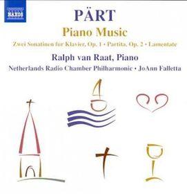 Part, Arvo / Van Raat / Falletta - Piano Music (CD)