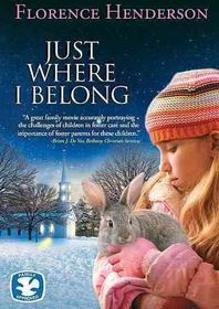 Just Where I Belong - (Region 1 Import DVD)