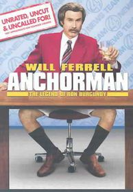 Anchorman: The Legend of Ron Burgundy Extended Edition - (Region 1 Import DVD)