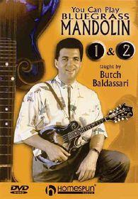 You Can Play Bluegrass Mandolin - (Region 1 Import DVD)