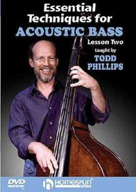 Essential Techniques for Acoustic Bass - Vol. 1 - (Region 1 Import DVD)