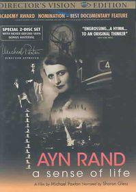 Ayn Rand:Sense of Life - (Region 1 Import DVD)