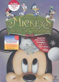 Mickey's Twice Upon a Christmas - (Region 1 Import DVD)