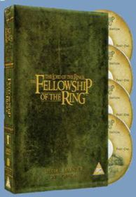 Lord Of Rings – Fellowship of the Ring Spec Ed (4 Discs) - (Import DVD)