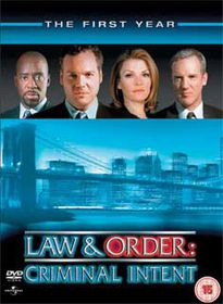 Law and Order Criminal Intent - Series 1 (Import DVD)