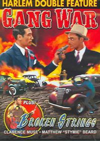 Broken Strings/Gang War - (Region 1 Import DVD)