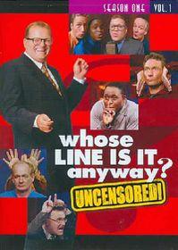 Whose Line is It Anyway:Season 1 Vol - (Region 1 Import DVD)