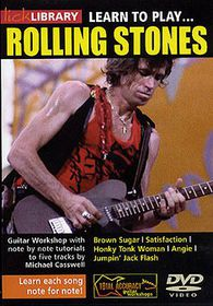 Learn To Play Rolling Stones - (Import DVD)